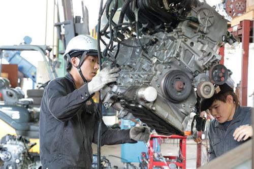 ㈱オートリサイクル ナカシマ 自動車リサイクルパーツの生産スタッフ